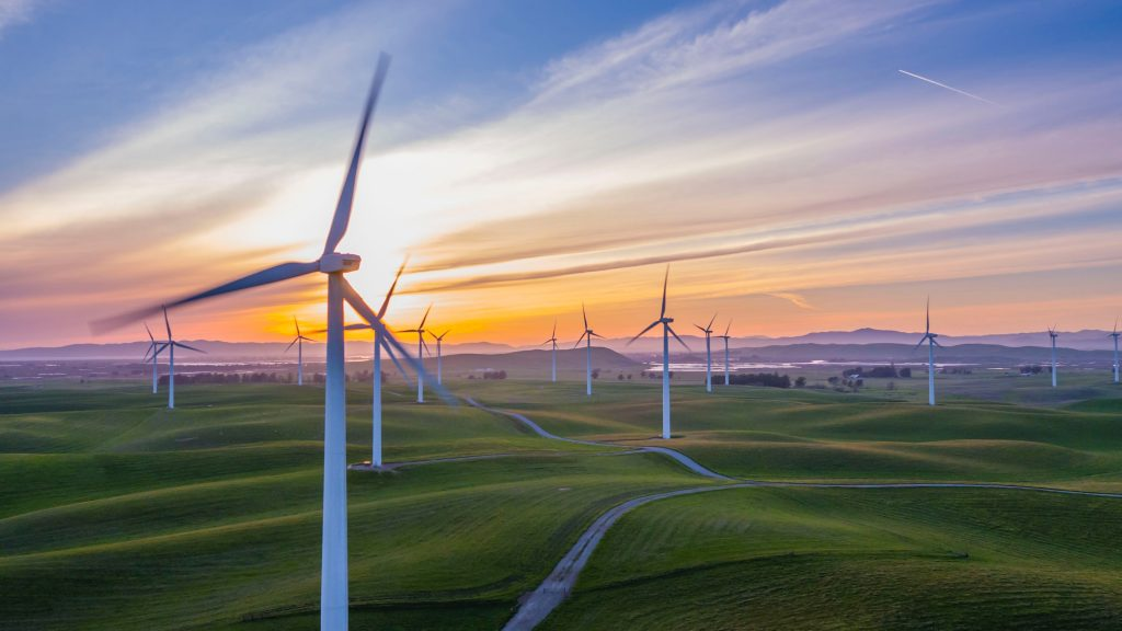 Wind Turbines, a form of renewable energy that can reduce your carbon footprint